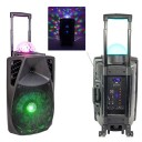 Boxa portabila iluminata led Party Light & Sound PARTY-12ASTRO,700W
